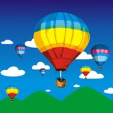 Airs balloon Royalty Free Stock Image