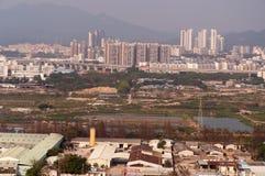 Airscape a cidade de zhuhai Imagens de Stock Royalty Free