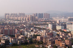 Airscape the City of zhuhai Stock Photo