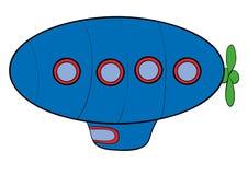 airship Royaltyfri Illustrationer