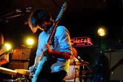 Airship band performs at Sidecar Stock Photos