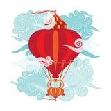 Airship royalty free stock image
