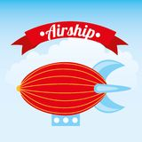 Airship design Royalty Free Stock Photos