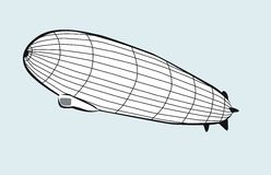 Airship Royalty Free Stock Photography
