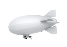 Airship Isolated Stock Images