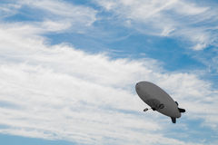 Airship in the sky Royalty Free Stock Photography