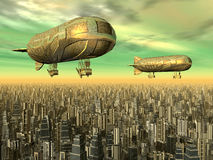 Airships Royalty Free Stock Photography