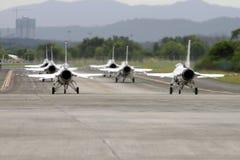 airshow雷鸟美国空军 免版税图库摄影