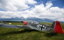 airshow αναδρομική ομάδα ουραν& Στοκ Φωτογραφίες