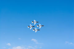 Airshow από την ιαπωνική Δύναμη Αυτοάμυνας αέρα Στοκ Φωτογραφία