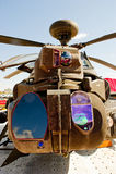 airshow του 2010 farnborough helipcopter στρατιωτικό στοκ φωτογραφία με δικαίωμα ελεύθερης χρήσης