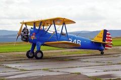 Airshow воздушных судн образца Стоковое Изображение
