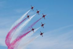 Airshow Royalty-vrije Stock Foto's