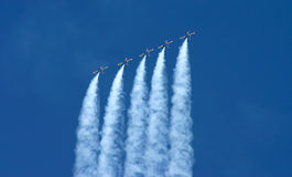 Airshow Photo stock