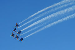 Airshow. Royalty Free Stock Photos