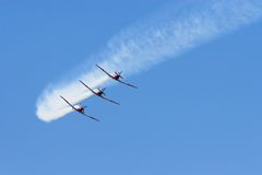 Airshow imágenes de archivo libres de regalías
