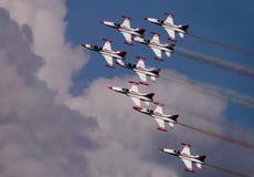 Airshow Lizenzfreie Stockbilder