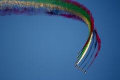 airshow 2011 dubai Arkivbild