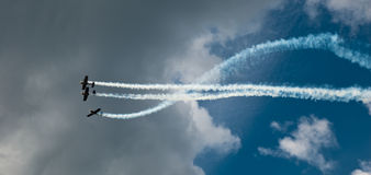 airshow Fotografia Stock