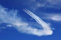 airshow arkivfoto