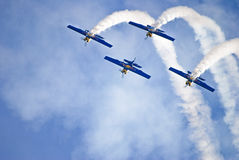 airshow Royaltyfri Fotografi