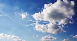 Airshow Royaltyfria Bilder
