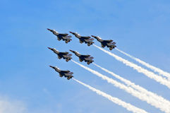 Airshow Foto de Stock Royalty Free