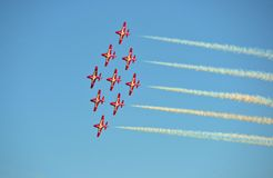Airshow Fotografia Stock Libera da Diritti