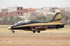 Airshow Aerobatic dos UAE Team Al Fursan Foto de Stock Royalty Free