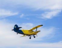 Airshow Aeromania, atração anual do verão em Tuzla Fotos de Stock Royalty Free