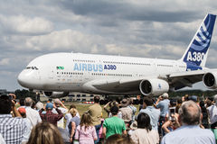Airshow Airbus Stock Photo