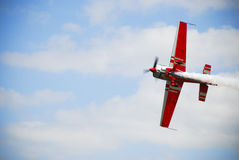 Airshow airplane Royalty Free Stock Images