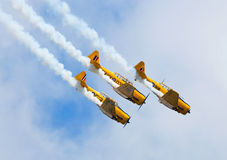 Airshow Airplane Royalty Free Stock Photo