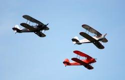 Airshow in Antwerpen Stockfotografie
