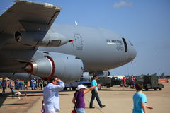 Airshow bei Barksdale AFB Lizenzfreie Stockfotos