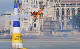 Airshow in Budapest - Red Bull air race- Stock Photography