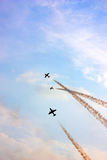 Airshow in China. An airshow in Zhuhai, China Stock Photo