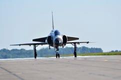 Airshow con Saab Viggen AJS 37 Fotos de archivo