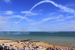 Airshow 2016 da praia de Eastbourne Imagem de Stock