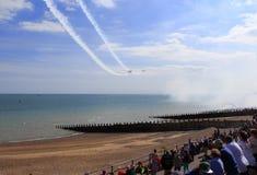 Airshow 2016 da praia de Eastbourne Foto de Stock