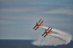 Airshow de Bornemouth - Inglaterra Foto de Stock Royalty Free