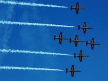 Airshow de Breitling Imagem de Stock