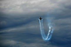 Airshow de combate do falcão F16 Imagens de Stock