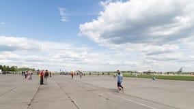 Airshow de Kubinka Photos libres de droits