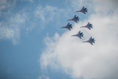 Airshow 2015 de MAKS Fotos de Stock Royalty Free