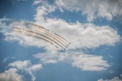 Airshow 2015 de MAKS Fotografia de Stock
