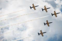 Airshow 2015 de MAKS Imagem de Stock