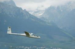 airshow dg1000双座机poprad 免版税图库摄影