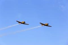 Airshow di Harvard Fotografie Stock