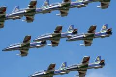 Airshow display Stock Image
